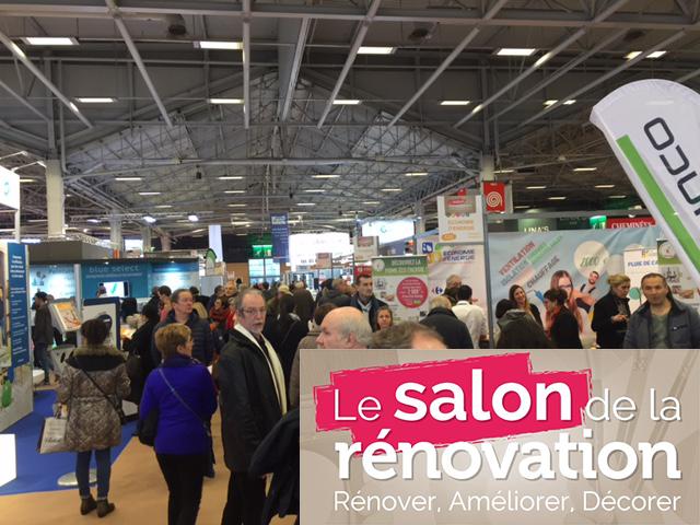 Le Salon de la rénovation – Paris Porte de Versailles 27, 28, 29 et 30 Janvier 2017