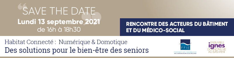 Save the date – Rencontre des acteurs du bâtiment et du médico social.