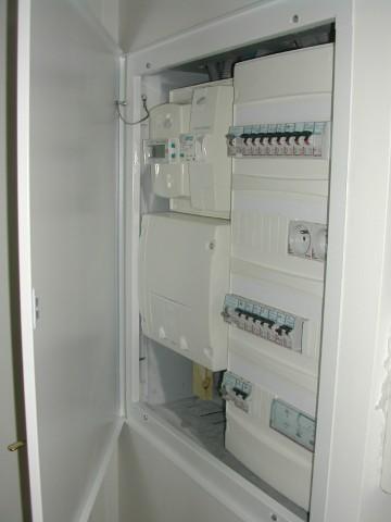 Compteur éléctrique normée pour sécurité électrique optimisée