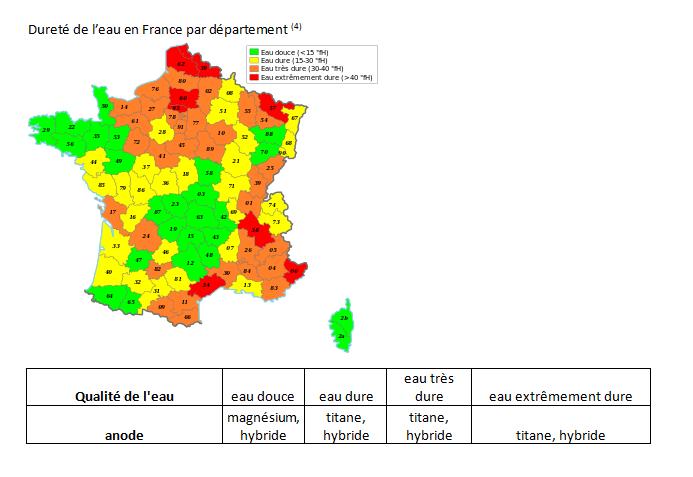 durete-de-l-eau-en-France